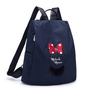Disney saco de fraldas múmia maternidade saco de fraldas grande capacidade cuidados com o bebê saco de enfermagem moda mochila de viagem da mãe infantil coisas