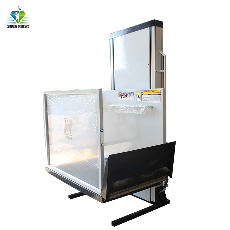Outdoor Wheelchair Lift Platform Elevator Wheelchair Lift For Home