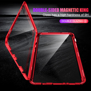 Image 3 - Funda magnética de protección 360 para samsung s10 plus, parte trasera de cristal + cubierta frontal para galaxy s10E s10plus s10 + s 10, carcasa de Metal