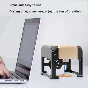3000mw Mini Engraving Wood Router Computer + Mobile Bluetooth APP Mill Cutter Engraver Machine 3W