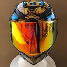 Новое поступление Полнолицевой мотоциклетный шлем с Фараоном мотоциклетный шлем для езды на автомобиле мотокросса мотоциклетный шлем