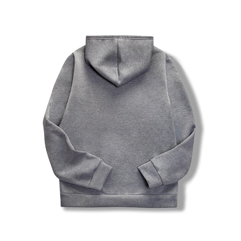 19 women's long-sleeved plain hooded sweatshirt plain multi-color men's and women's casual pullover hoodie 27