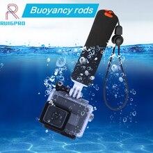 Floaty Schwimm Foam Hand Grip Griff Berg + Schraube Für GoPro Hero 9 8 7 6 5 4 3 + 3 2 1 XIAOMI YI 4K Sport Action Kamera