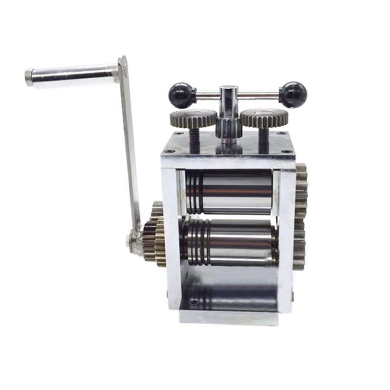1PC Manual Stainless Steel Jewelry Processing Bending Machine For Manual Gold Earrings Bracelet Compression Line Bending Machine