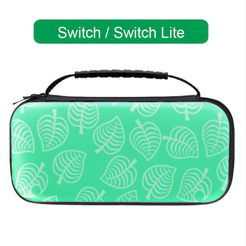 Animal Crossing Hand Bag Console Storage Box Hard Shell Game Cards Holder for Nintendo Switch Nintend Lite Protective Case Cover image