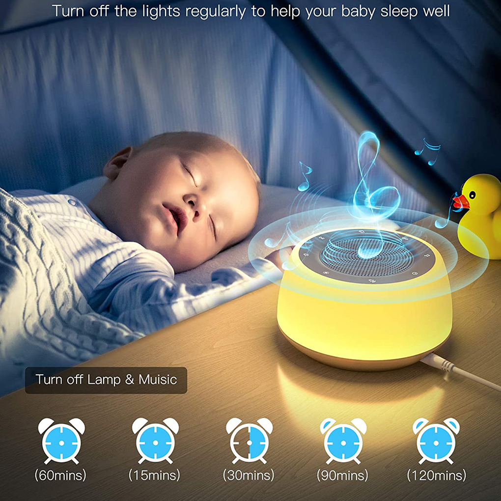 Белый Шум машина USB Перезаряжаемые время выключения звука сна машина для сна и отдыха для взрослых
