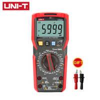 Multimetro digitale Tester Uni t UT89XD Multimetre Vero RMS AC DC Voltmetro Amperometro Frequenza di Capacità di Resistenza Tester di Volt