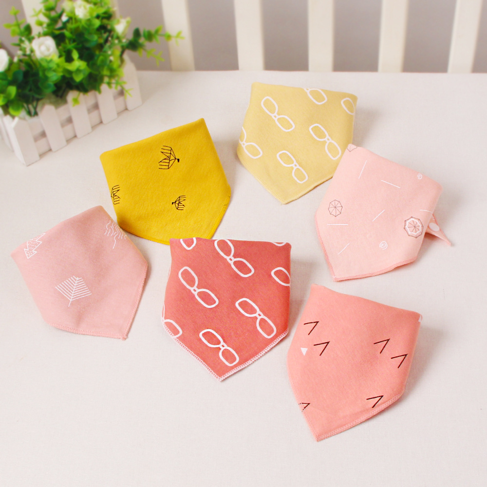 44*31cm Baby Boy Scarf  Baby Stuff for Girl Infant  Baby Feeding Bibs Banada Towel for Kids Children's Products