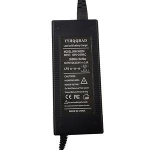 Image 2 - Е байка 36В 2A высокого давления зарядное устройство для свинцово кислотных аккумуляторов, фара для электровелосипеда в электрический скутер зарядного устройства для электрического велосипеда транспортных средств