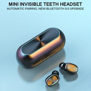 Image 4 - B5 tws 무선 이어폰 스테레오 블루투스 이어폰 무선 이어폰 블루투스 5.0 마이크 터치 음악 전화 헤드셋