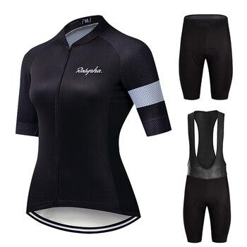 Ralvpha-Conjuntos de Ropa de Ciclismo para Mujer, Kit de Ropa para Ciclismo,...