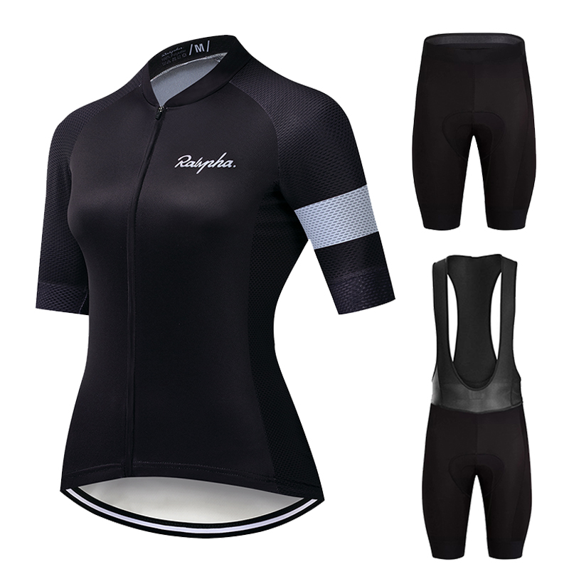 Ralvpha Cycling Sets 2020 Women's Summer Bike Clothes Suits Cycling Clothing Kit Ropa Ciclismo Mujer Breathable Bicycle Jerseys