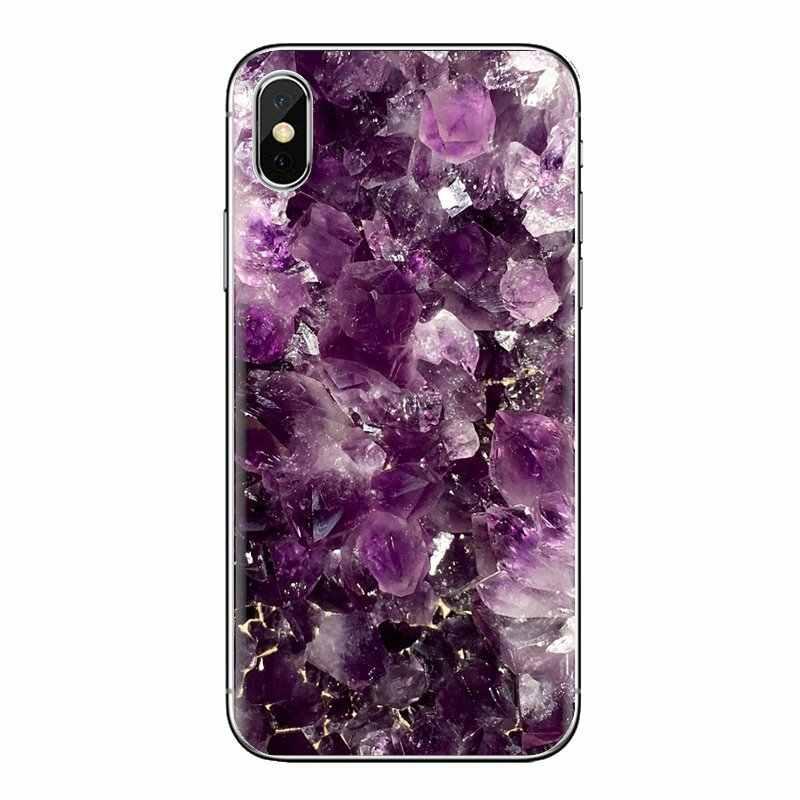 Cassa Del Telefono Mobile In Oro Rosa Glitter Marmo Per Samsung Galaxy S2 S3 S4 S5 MINI S6 S7 bordo S8 S9 più Nota 2 3 4 5 8 Coque Fundas