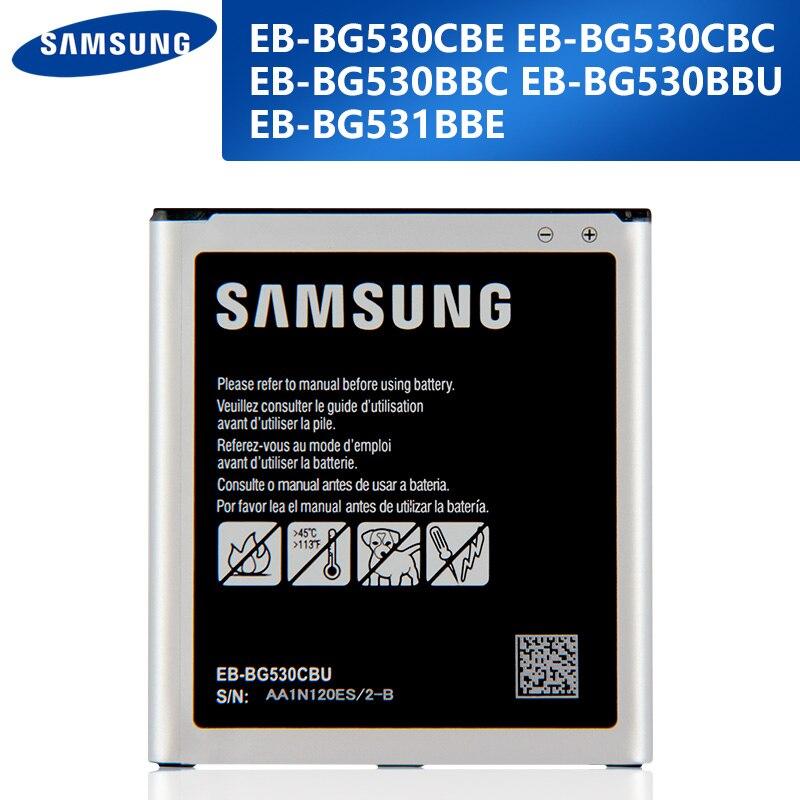 Оригинальная замена аккумулятор телефона EB-BG530CBE Чехол для мобильного телефона для Samsung Galaxy Grand J3 2016 J320F G5308W G530 G531 J5 2015 J2 Prime G532