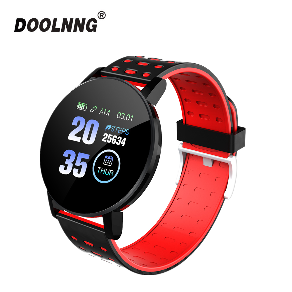 2019 Hot Sale Smart Watch Heart Rate Blood Pressure Monitor Smart Watch Women Smartwatch Men for IOS Android Phone