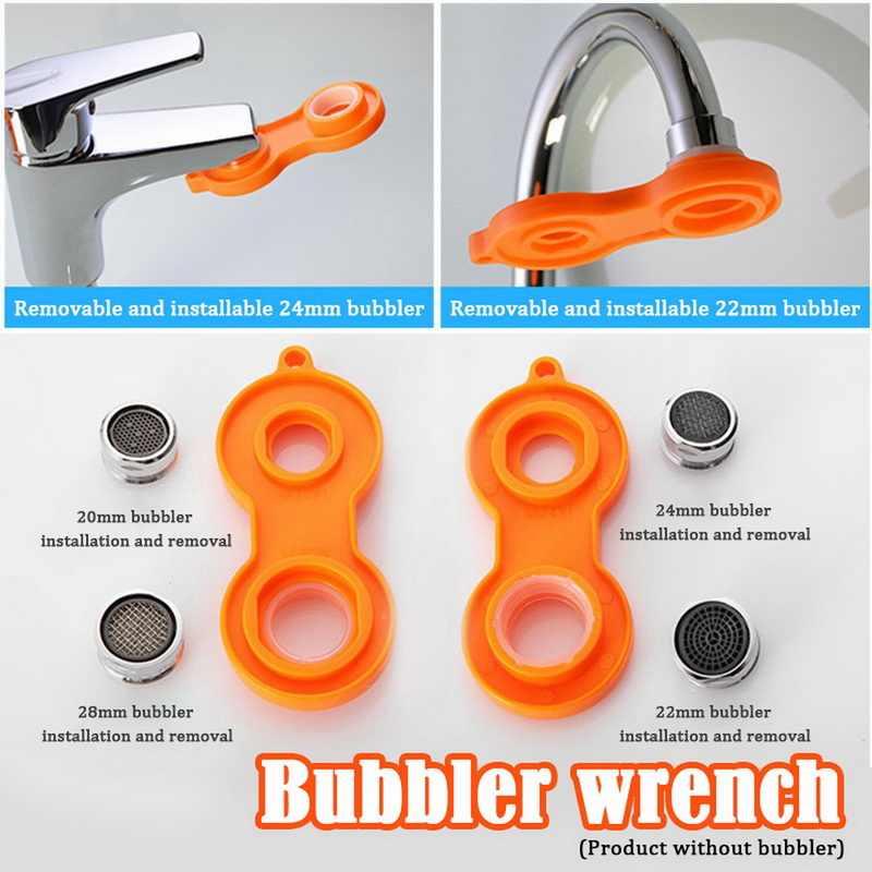 plastic sprinkle faucet aerator tool spanner wrench repair tool faucet aerator repair kit replacement tool spanner