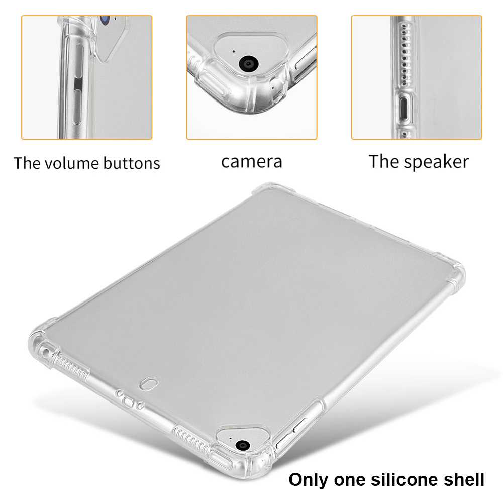 Shockproof Drop Resistance Practical Durable Soft Silicone Lightweight Tablet Case Protective