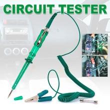 Mais novo carro testador de circuito dc 6v 12v 24v tensão auto veículo calibre luz teste frete grátis