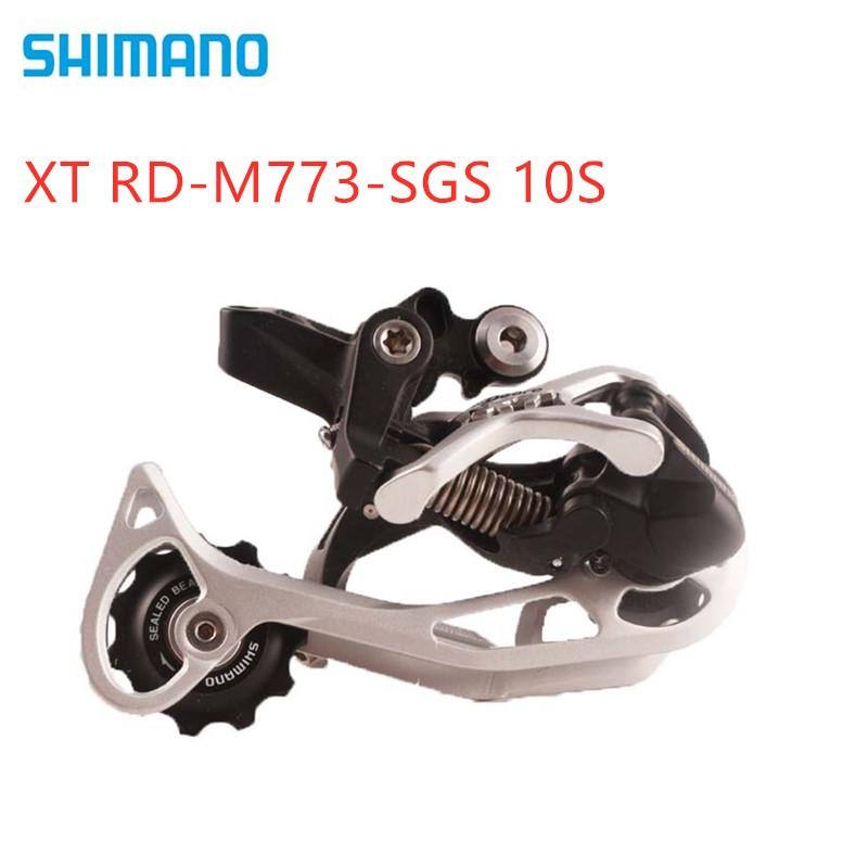 Shimano XT RD-M773-SGS Shadow Rear Derailleur long SGS 10 speed 10s  Performance beyond shifter XT-M773