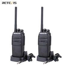 Retevis-walkie-talkie RT24, Radio PMR446 UHF, 0,5 W, sin licencia, VOX Scan, codificador de Radio Ham, transceptor Staion Hf, 2 uds.