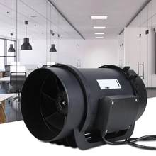 Schnee Gebläse 6.3in EC Motor Ventilation Exhaust Fan Duct Fan Intelligente Controller 470 CFM AC100-240V Sopladora De Aire(China)