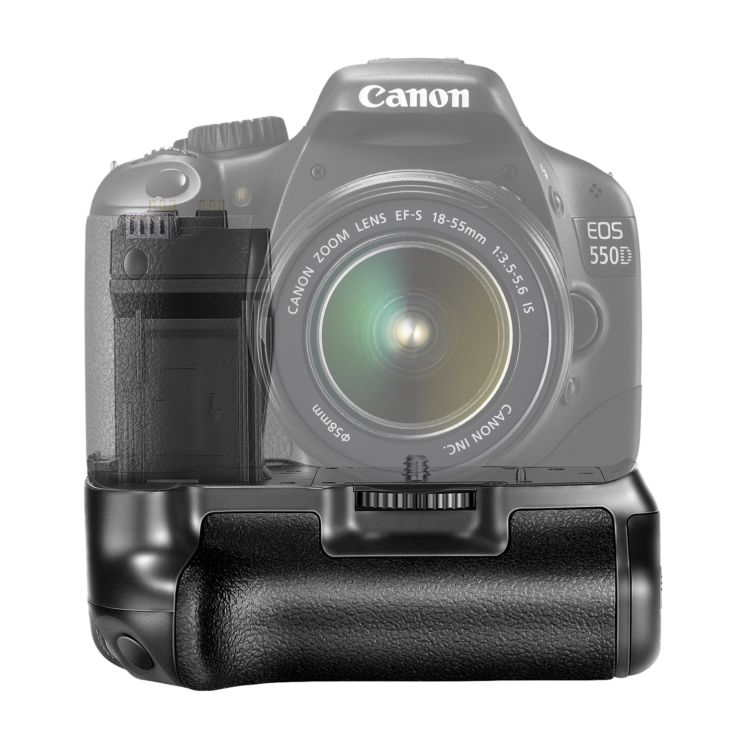 Neewer BG-E8 Replacement Battery Grip for Canon EOS 550D 600D 650D <font><b>700D</b></font>/ Rebel T2i T3i T4i T5i SLR Cameras image