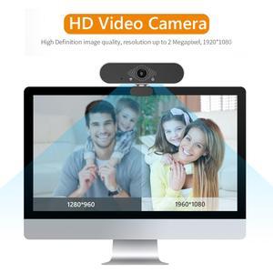 Image 4 - ALLOET Webcam Full HD 1080P, caméra Web avec Microphone intégré, rotatif, Autofocus, pour la diffusion en direct et le travail de vidéos