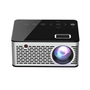 Mini projetor portátil micro hd cinema hdmi led usb vídeo beamer cinema em casa as99|Sistema de conferência| |  -
