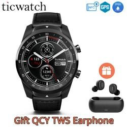Original Ticwatch Pro Smart Watch NFC Google Pay Google Assistant GPS Watch Men IP68 Layered Display Long Standby