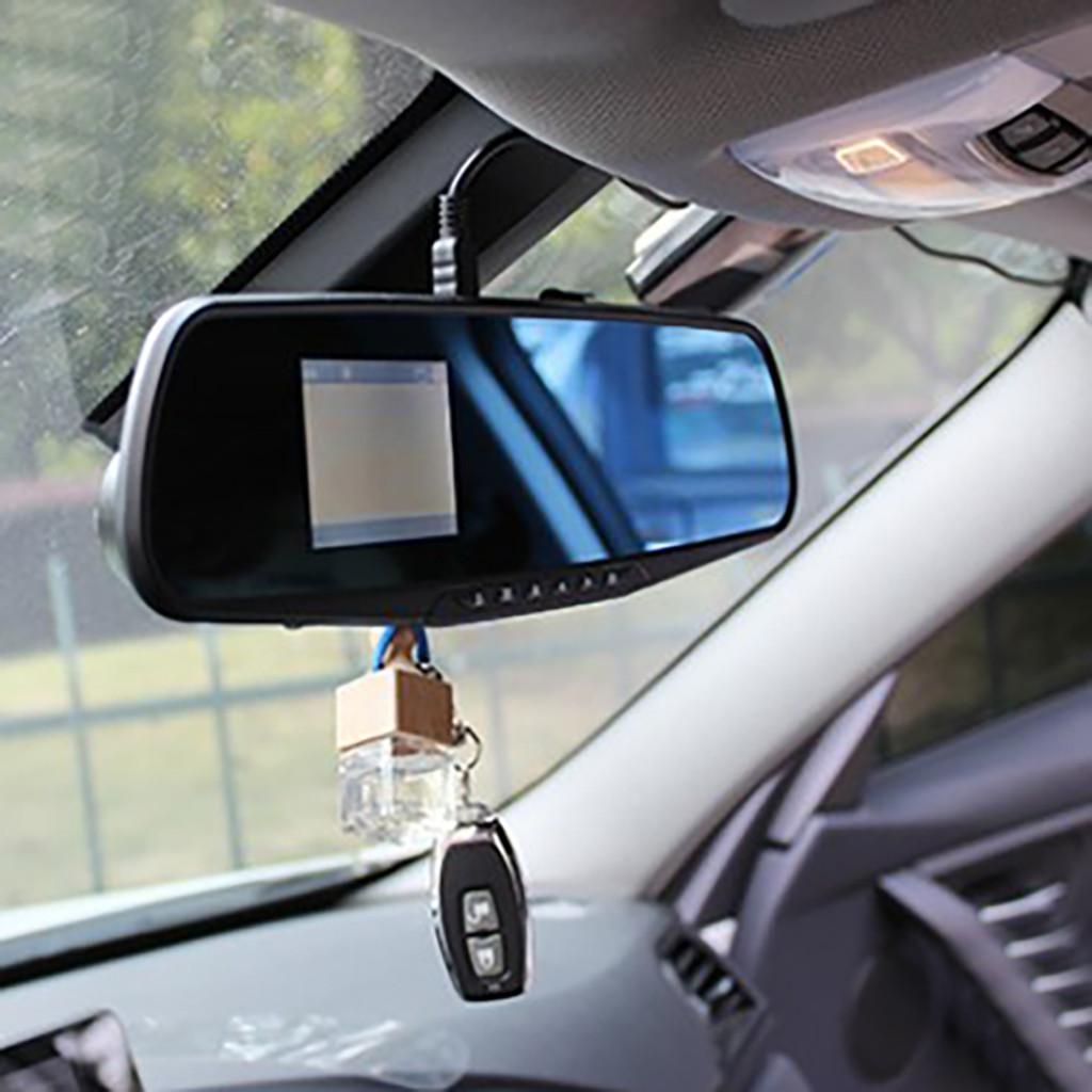 Full HD 1080P Car Dvr Camera Auto 2.8 inch Rearview Mirror Digital Video Recorder Dual Lens Dash Cam Registratory Camcorder|DVR/Dash Camera| - AliExpress
