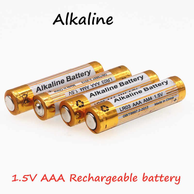 Щелочная батарея новая 3000mah 1,5 V ААА алкалиновая батарея AAA перезаряжаемая батарея для дистанционного управления игрушечная лампа Batery дымовая сигнализация
