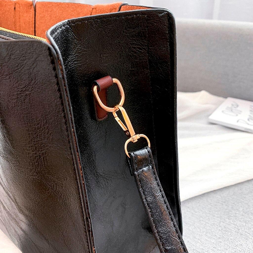 Ensemble sacs 3 pièces mode en cuir PU dames sac à main 88
