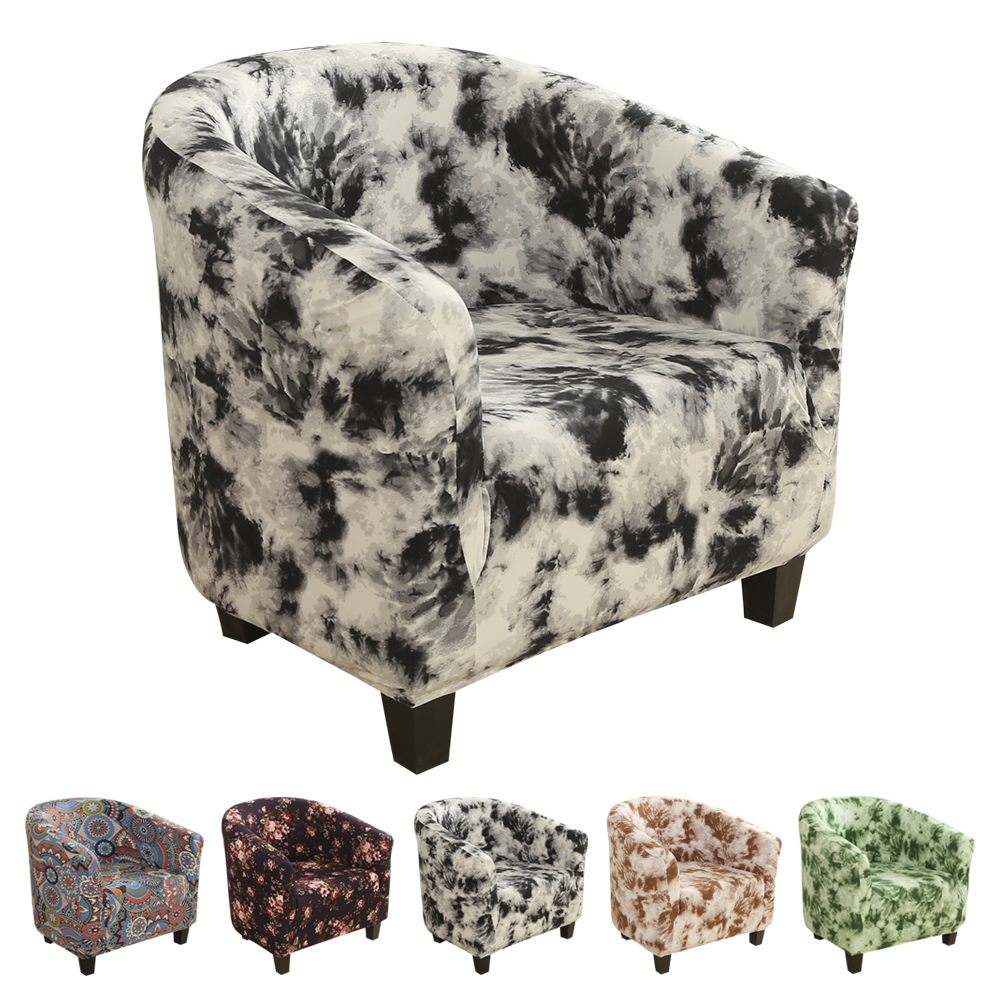 Эластичный чехол для дивана кофейной ванны, спандекс, моющийся чехол для мебели, защитный чехол для сиденья, чехол для кресла|Чехлы для диванов|   | АлиЭкспресс