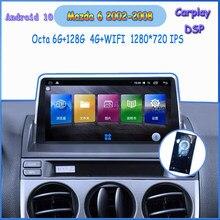 android 10 car radio for Mazda 6 2002 2003 2004 2005 2006 2007 2008 car radio dvd carplay multimedie bluetooth gps navigation