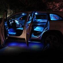 10pcs Erro Free Car LED Lâmpada de Leitura Interior Lâmpada Tronco K5 Luz Para Kia Optima 2011 2012 2013 2014 2015 2016 2017 Acessórios