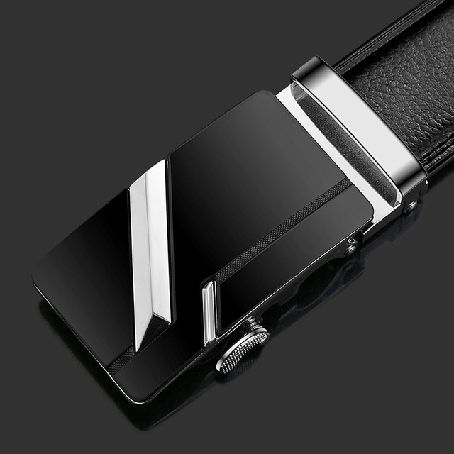 2020 Famous Brand Belt Men Top Quality Genuine Luxury Leather Belts for Men Strap Male Metal Automatic Buckle men belts 2