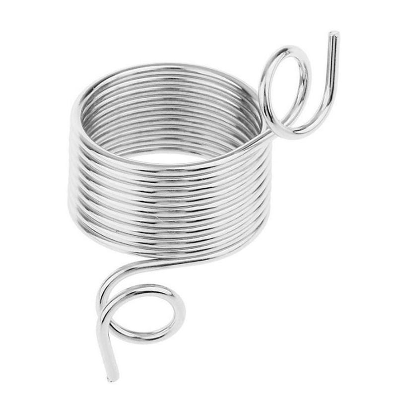 New Yarn Spring Guides Braided Knuckle Assistant Jacquard Needle Thimble DIY Sewing Accessories Stainless Steel Knitting Tool