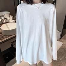 Liscn 2021 трендовая утепленная белая футболка средней длины