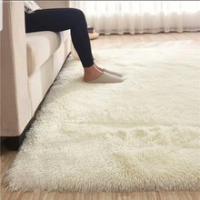 Rug Bedroom Floor-Mat Shaggy Carpet Faux-Fur Living-Room Alfombras Non-Slip Home-Decor