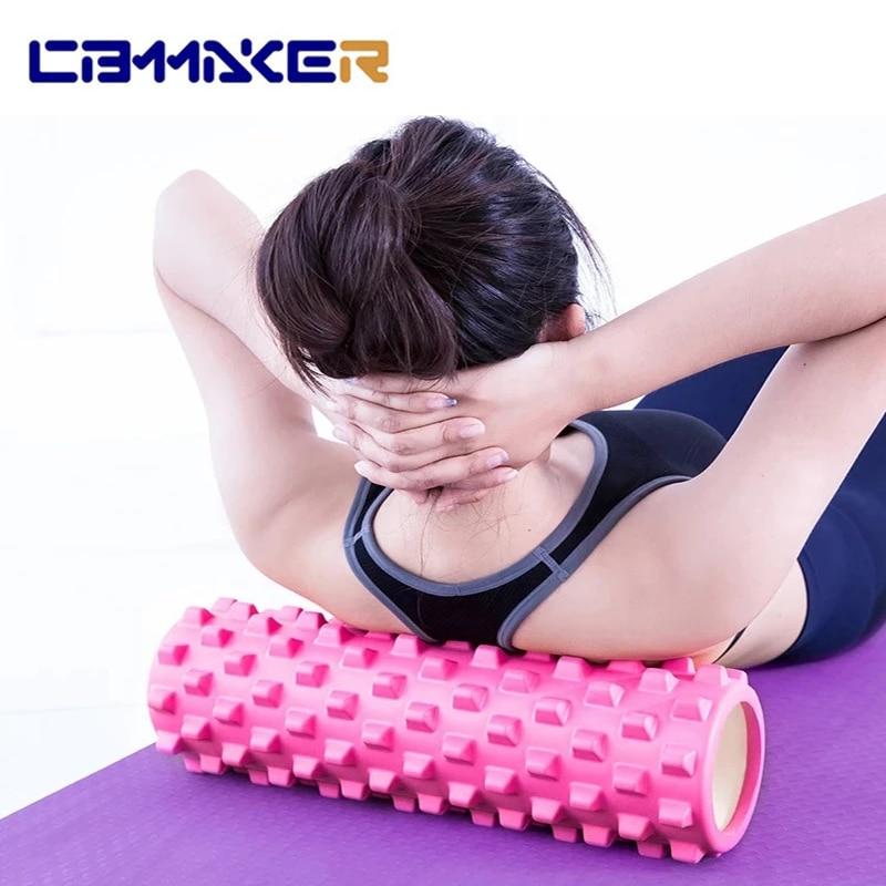 Yoga Block Fitness 30*9.5cm Equipment Pilates Foam Roller 26*8cm Fitness Gym Exercises Muscle Relax Massage Brick Sport