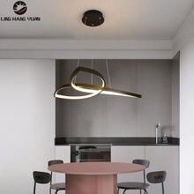 Современная светодиодная люстра Подвесная лампа 110 В 220 Декоративная