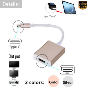 Image 2 - Grwibeou USB C TO HDMI Adapter Cable Usb 3.1 Thunderbolt 3 To HDMI Iphone Usb c To HDMI Switch Cable Converter for Type C Device