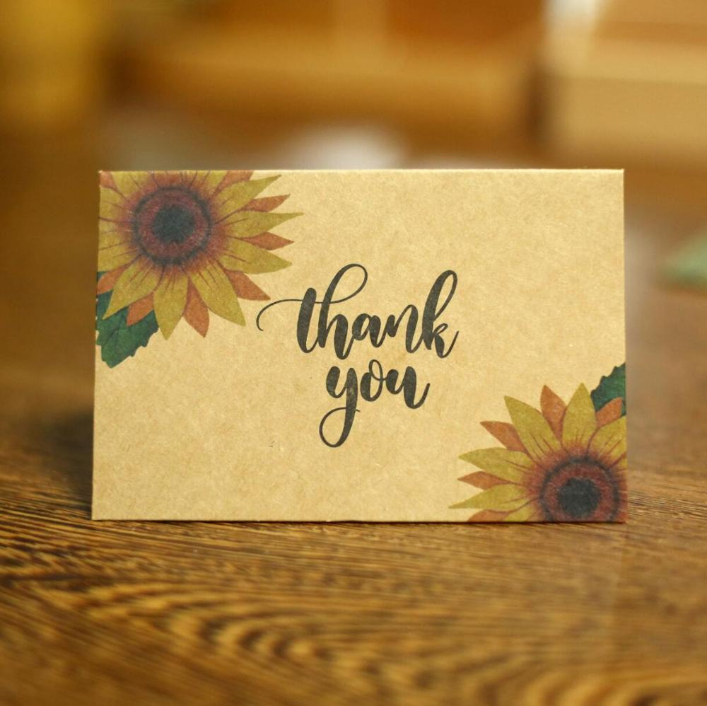 Sunflower Flower Greeting Card Anniversary Card, Card For Wife, Card For Mom