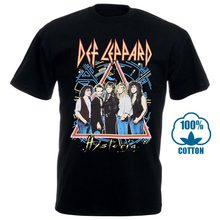 Def Leppard Hysteria Band T Shirt S M L Xl 2Xl Brand New Official T Shirt(China)