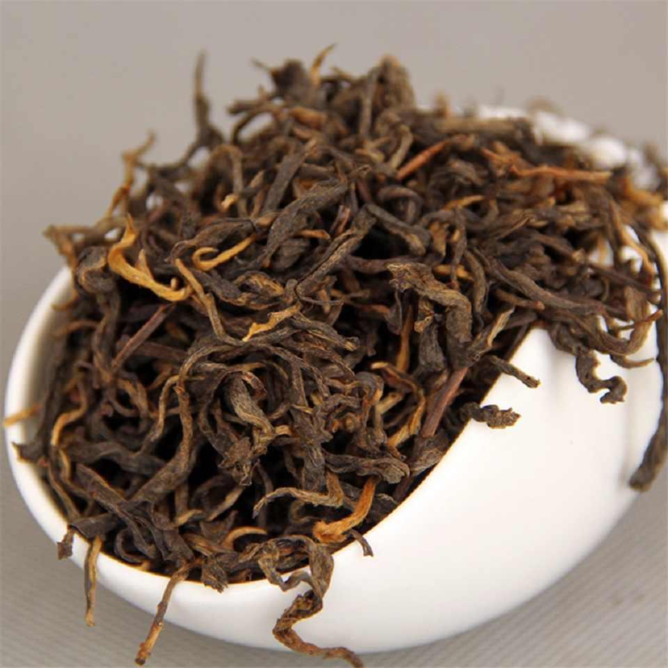จีน Yunnan Dian Hong ชาพรีเมี่ยม Dianhong ชาความงาม Slimming ขับปัสสาวะลงสามสีเขียวอาหาร Dian Hong สีดำชา