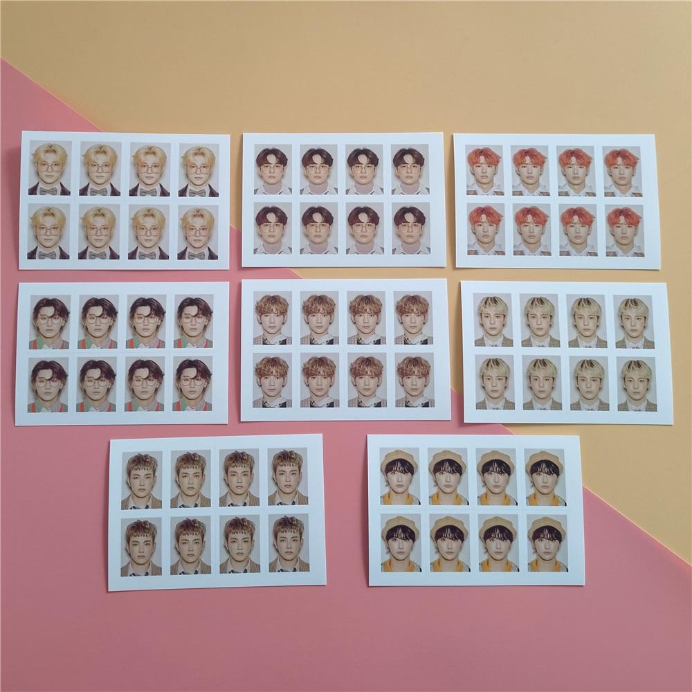1pcs Kpop ATEEZ Photocard Group Member Picture HONG JOONG SEONG HWA Photo Lomo Card