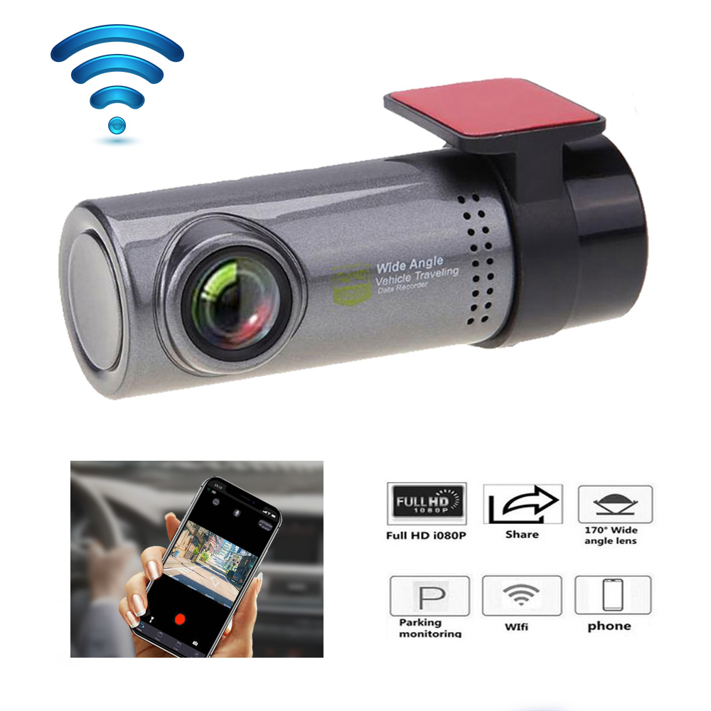 Dash Cam Mini WIFI Auto DVR Kamera Digitale Kanzler Camcorder Video Auto Kamera Recorder DashCam HD 720P Auto Vorne dash Cam