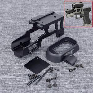 Tactical ALG 6 Second Optics Scope Mount T1 T2 H1 RMR For Marui WE KWA Pistol Gen3 Glock 17 18C 22 24 31 34 35 With Magwell