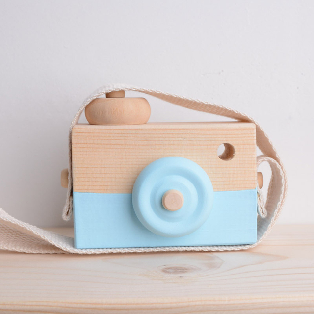Nordic Hanging Wooden Camera Toy Children'S Toys Gifts Room Decoration Supplies Wooden Toys JPDZS1031 3