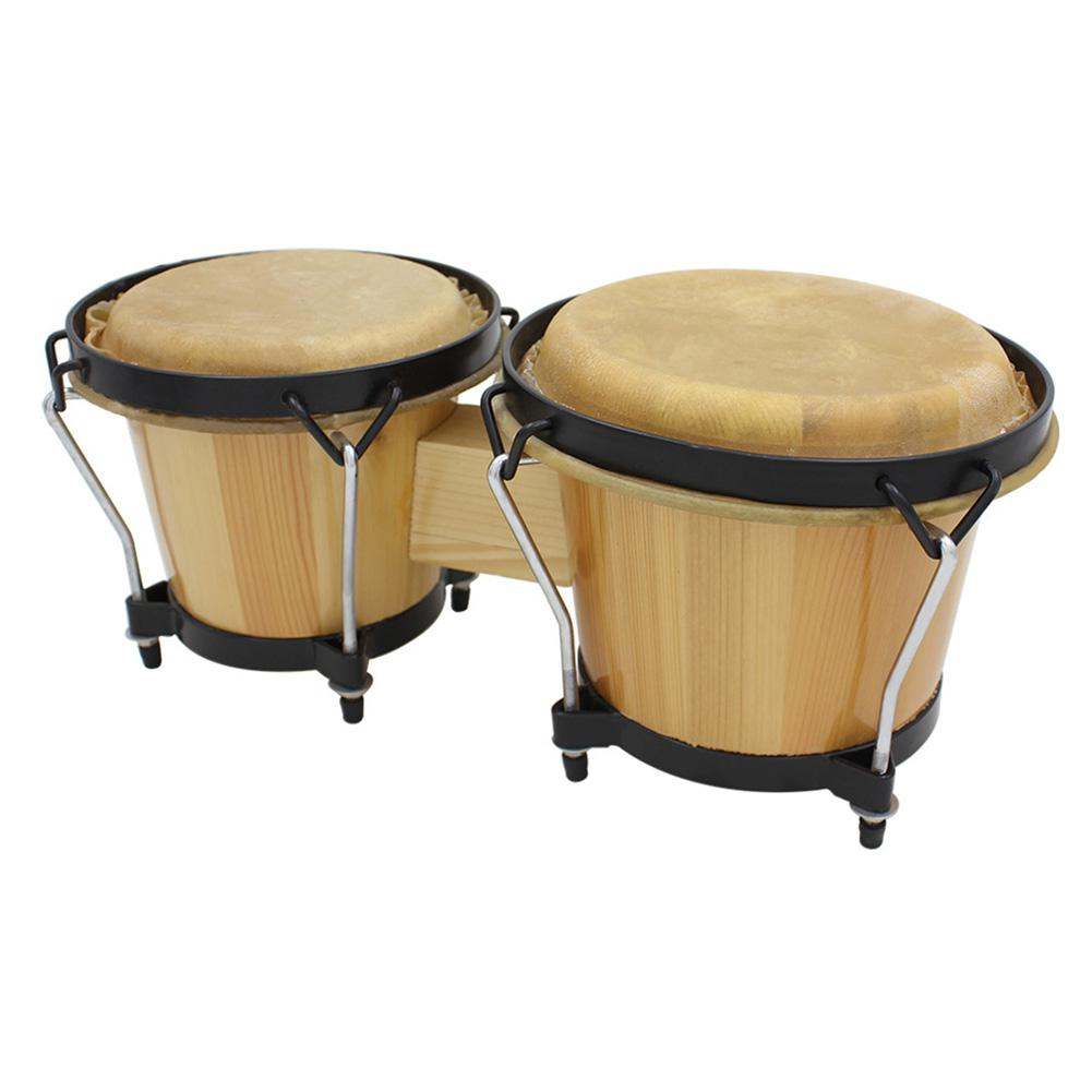 2pcs/set Buffalo Drum Skin Leather Head Clear Sound Drums Accessories For African Drum Bongo Drum